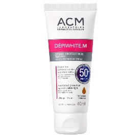 Depiwhite M. Crema con color dorado SPF 50 - 40 ml