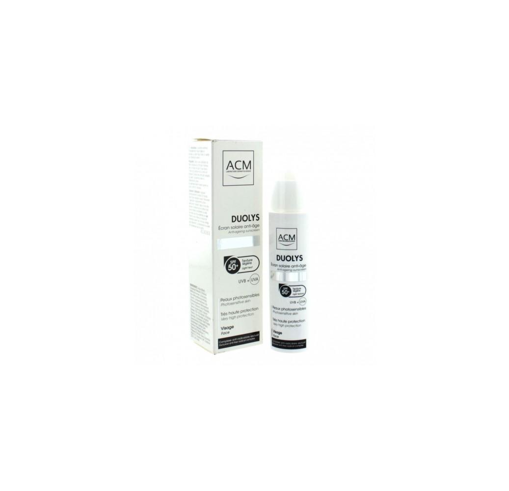 Duolys Crema Solar Anti-edad SPF 50+ - 50 ml