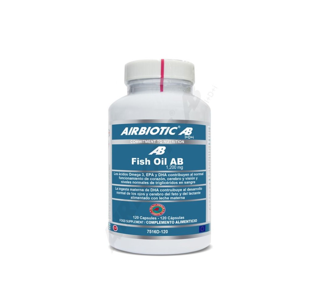 Fish Oil AB - 1200 mg - 120 cap.
