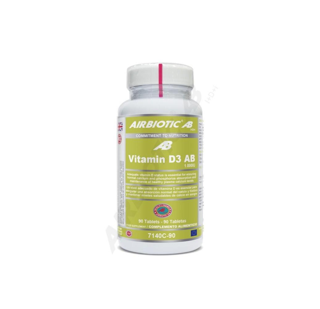Vitamina D3 AB - 1000 IU - 90 comp.