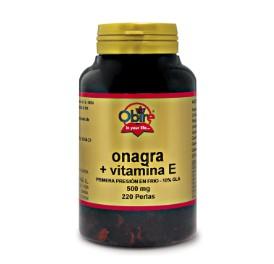 Aceite de onagra - 500 mg - 220 perlas