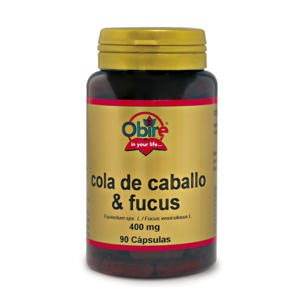 Cola de caballo + Fucus - 400 mg - 90 cap.