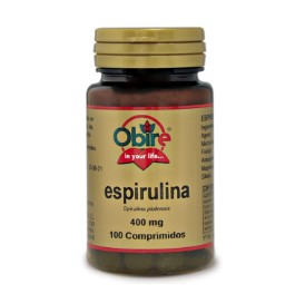 Espirulina - 400 mg - 100 comp.