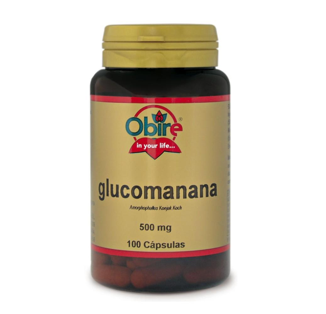 Glucomanana - 500 mg - 100 cap.