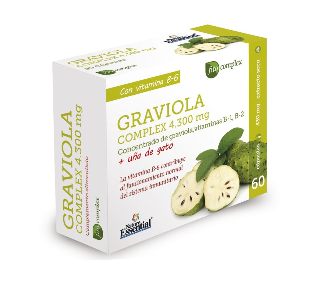 Graviola complex - 4300 mg - 60 cap.