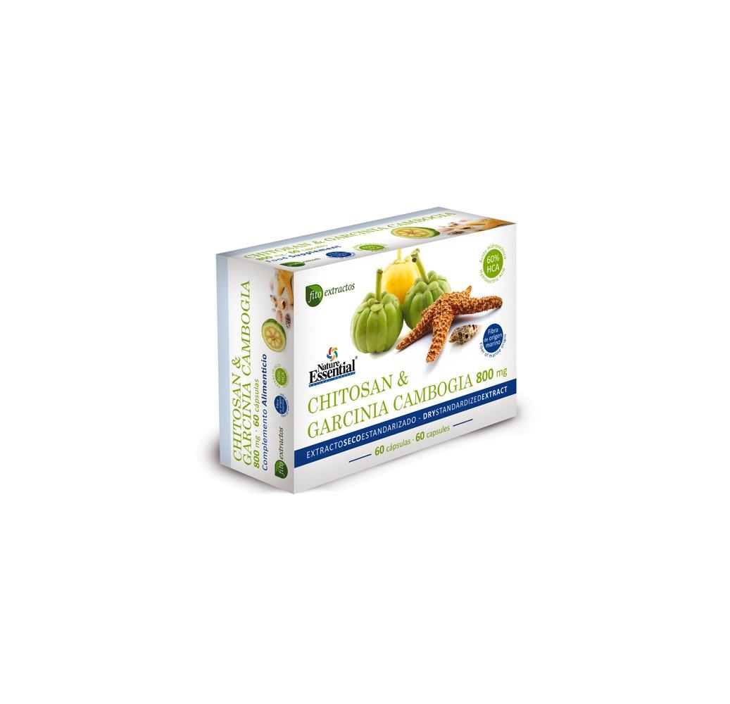 Chitosan & Garcinia cambogia - 800 mg - 60 cap.