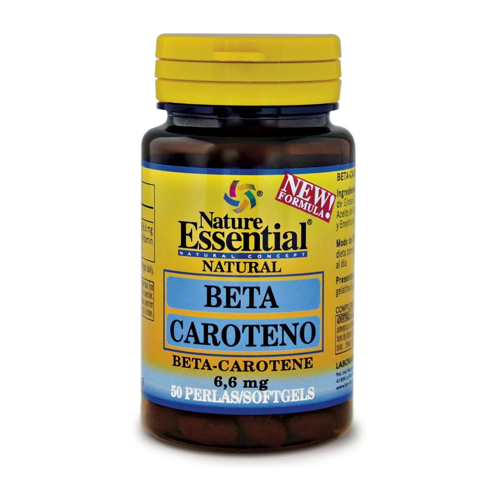 Beta Caroteno - 50 perlas