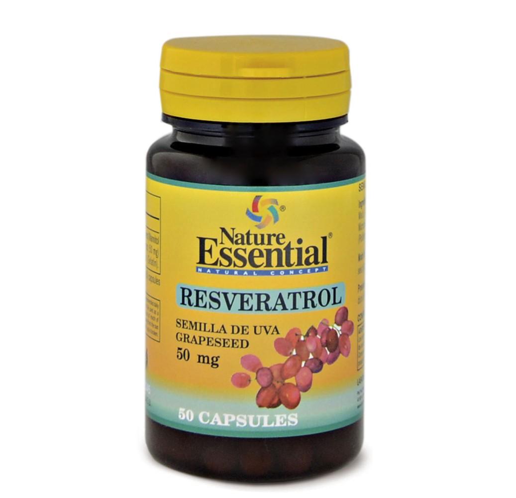 Resveratrol (semilla de uva) - 50 cap.