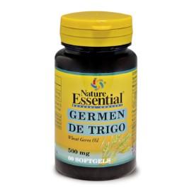 Aceite de germen de trigo - 60 perlas