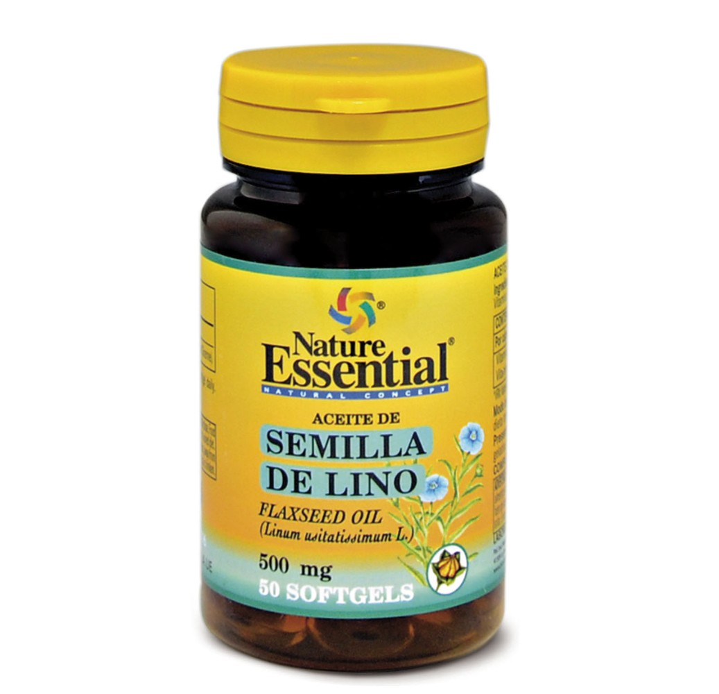 Aceite de semilla de lino - 50 perlas