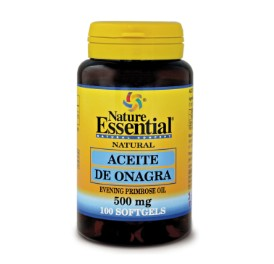 Aceite de onagra - 500 mg - 100 perlas