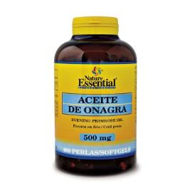 Aceite de onagra - 500 mg - 400 perlas
