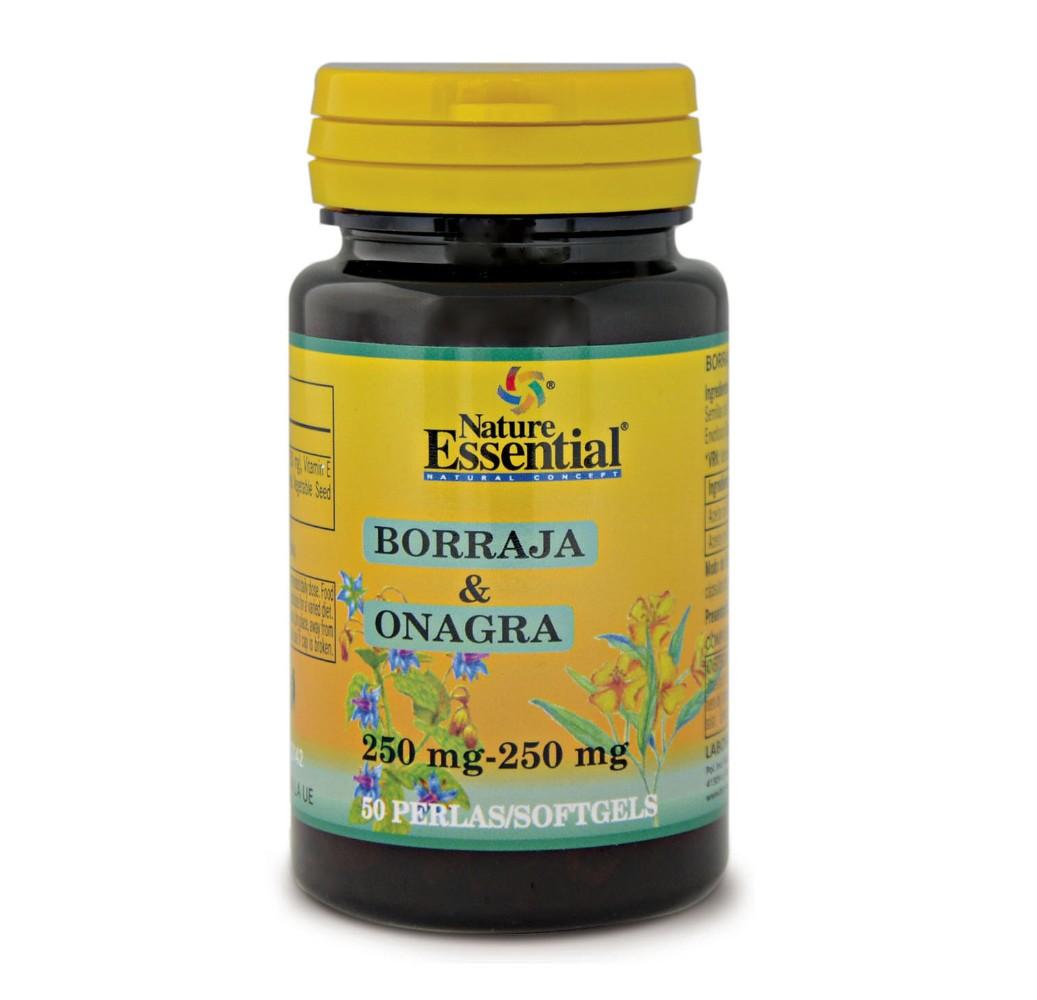 Borraja & Onagra - 500 mg - 50 perlas