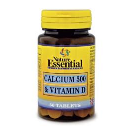 Calcio 500 + Vitamina D - 50 comp.