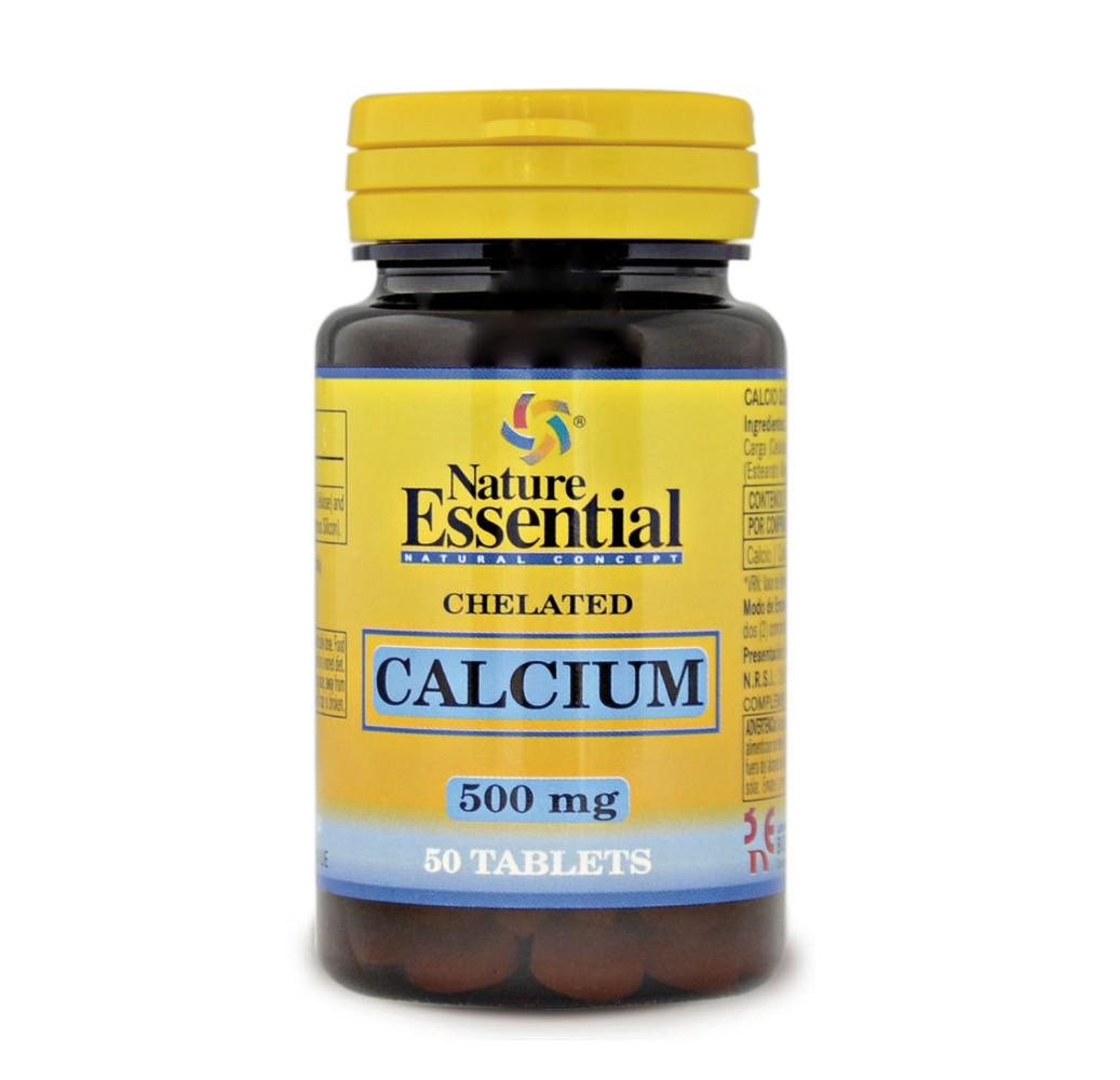 Calcio quelado - 500 mg - 50 comp.