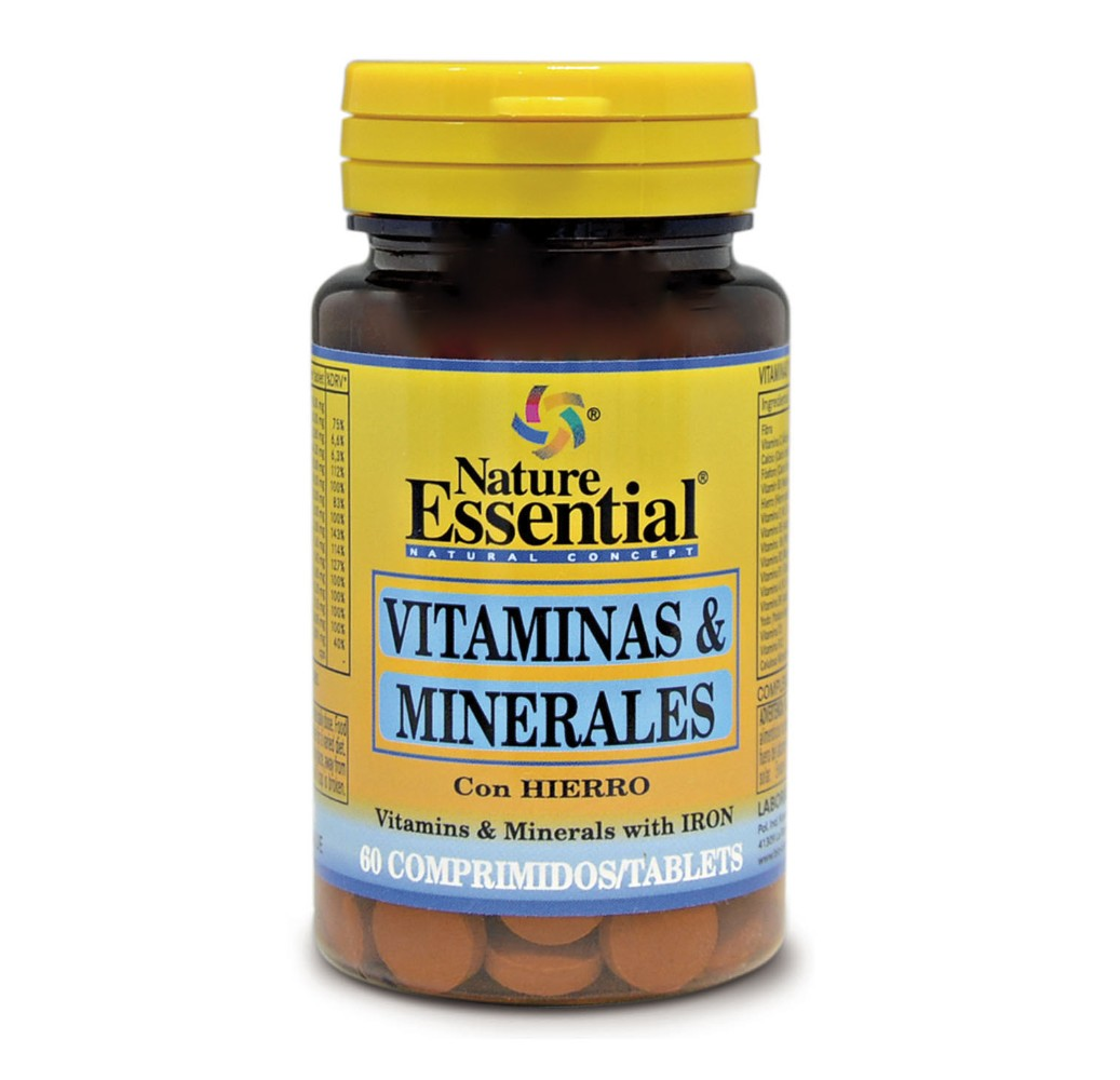 Vitaminas & Minerales - 60 comp.