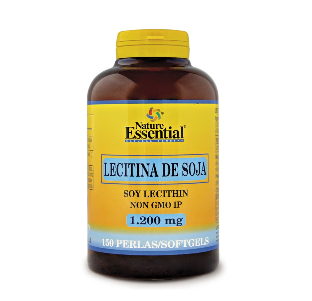 Lecitina de soja - 1200 mg - 150 perlas
