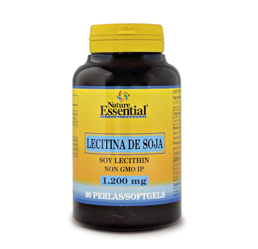 Lecitina de soja - 1200 mg - 90 perlas