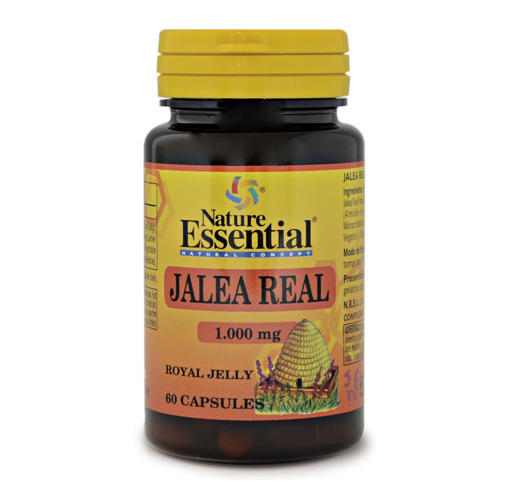 Jalea real - 1000 mg - 60 cap.