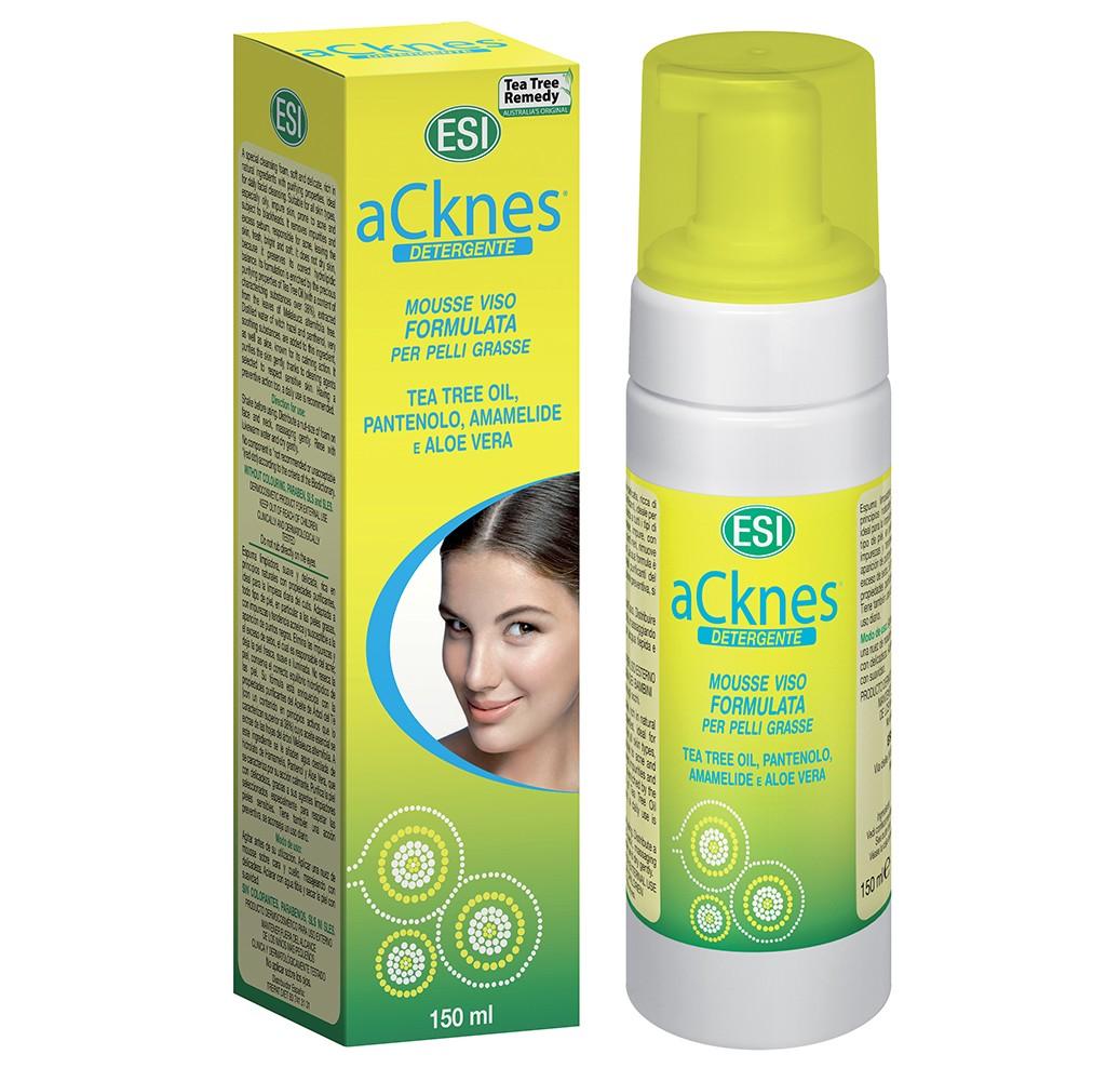 Acknes - Espuma limpiadora