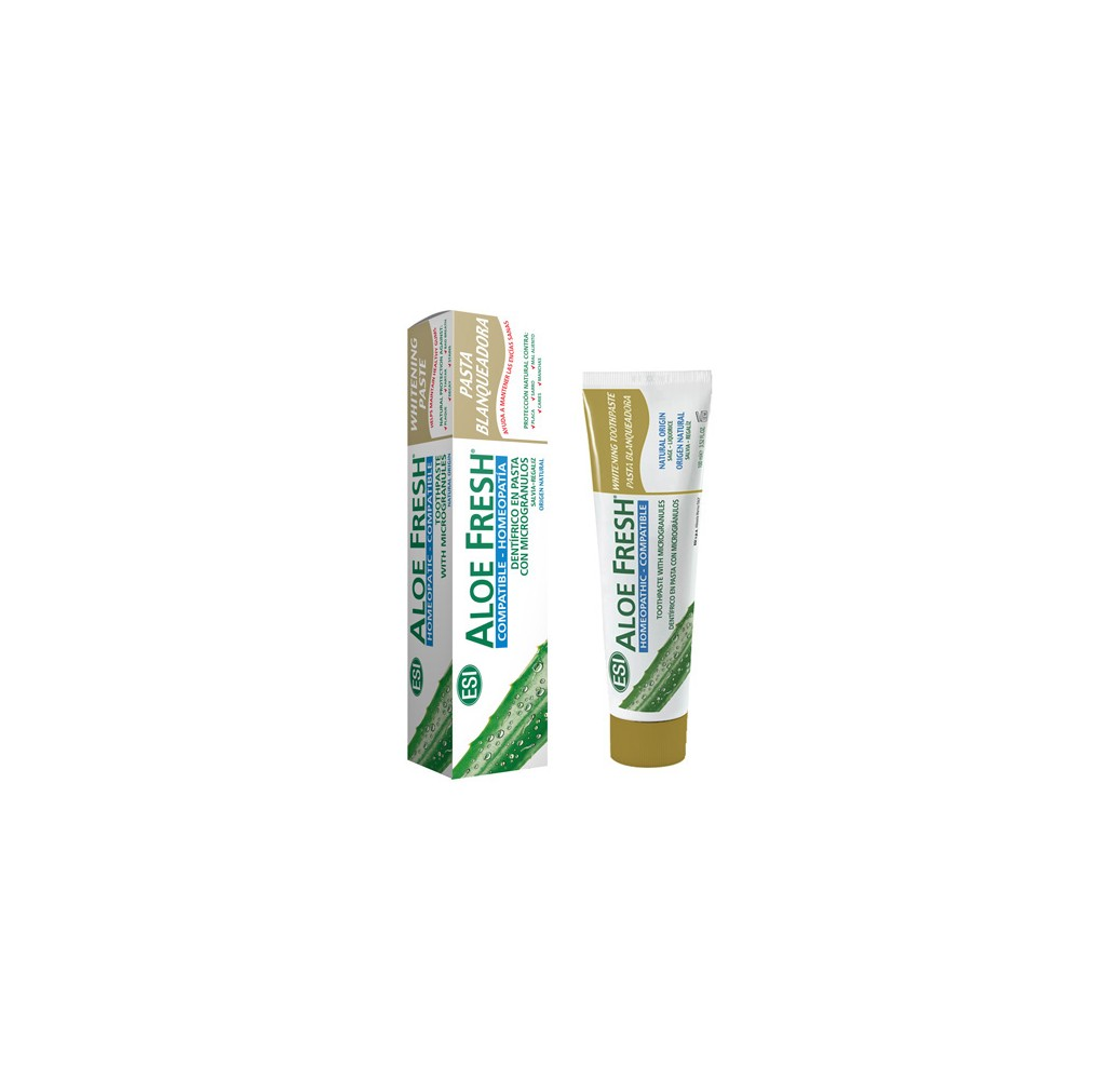 Aloe Fresh - Pasta blanqueadora - 100 ml