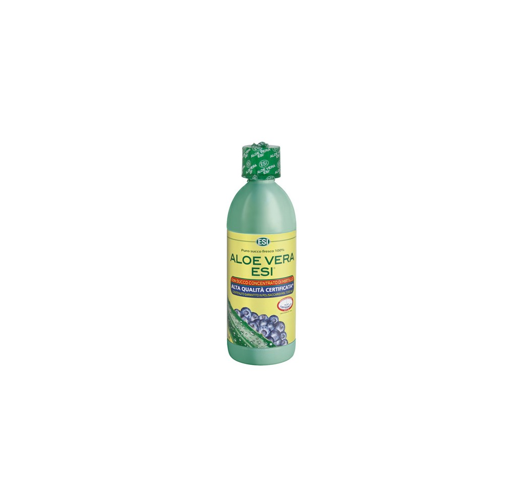 Aloe Vera - Zumo + mirtilo - 500 ml
