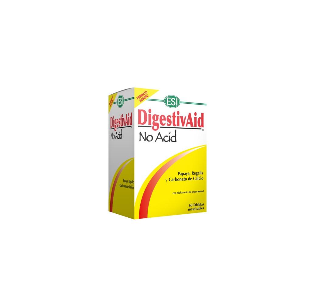 Digestivaid no acid - 60 tabletas