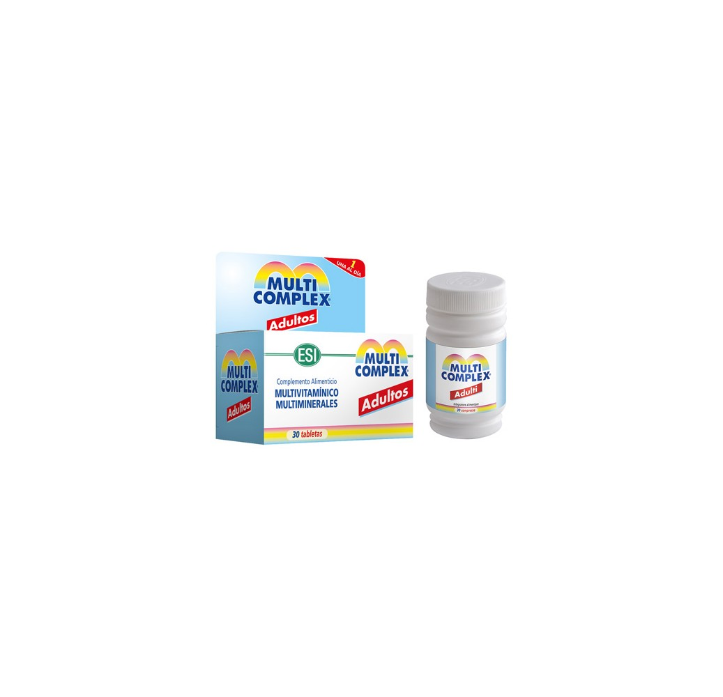 Multicomplex adultos - 30 tabletas