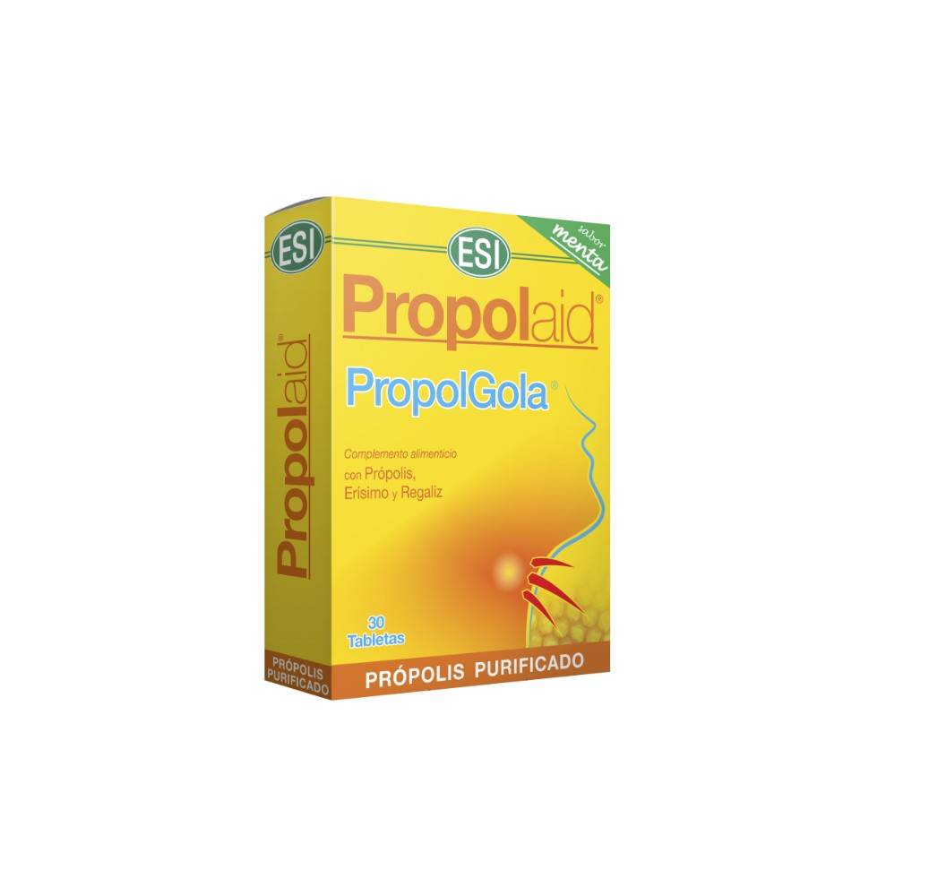Propolaid - Propolgola menta - 30 tabletas