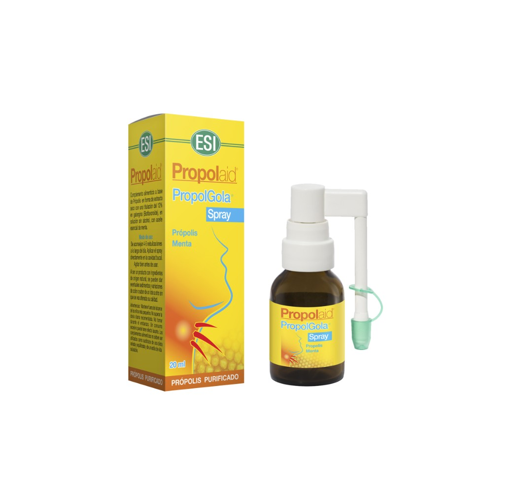Propolaid - Propolgola spray oral sin alcohol - 20 ml