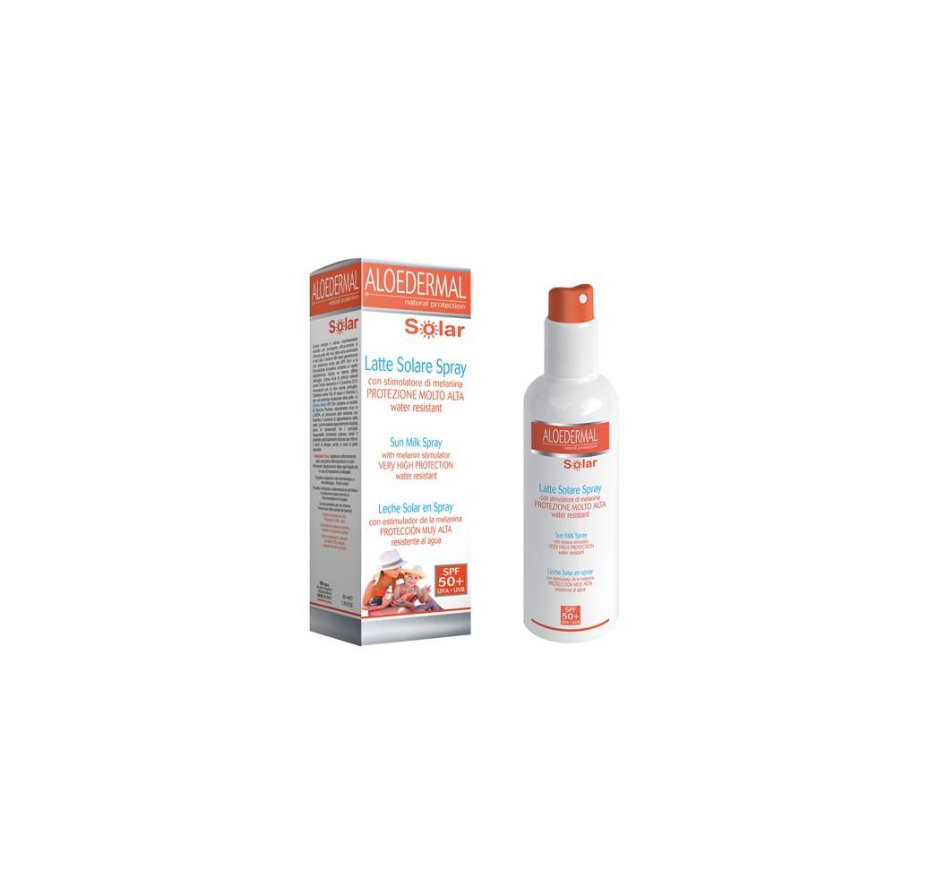 Aloe Solar - Leche spray FP-50+ - 150 ml