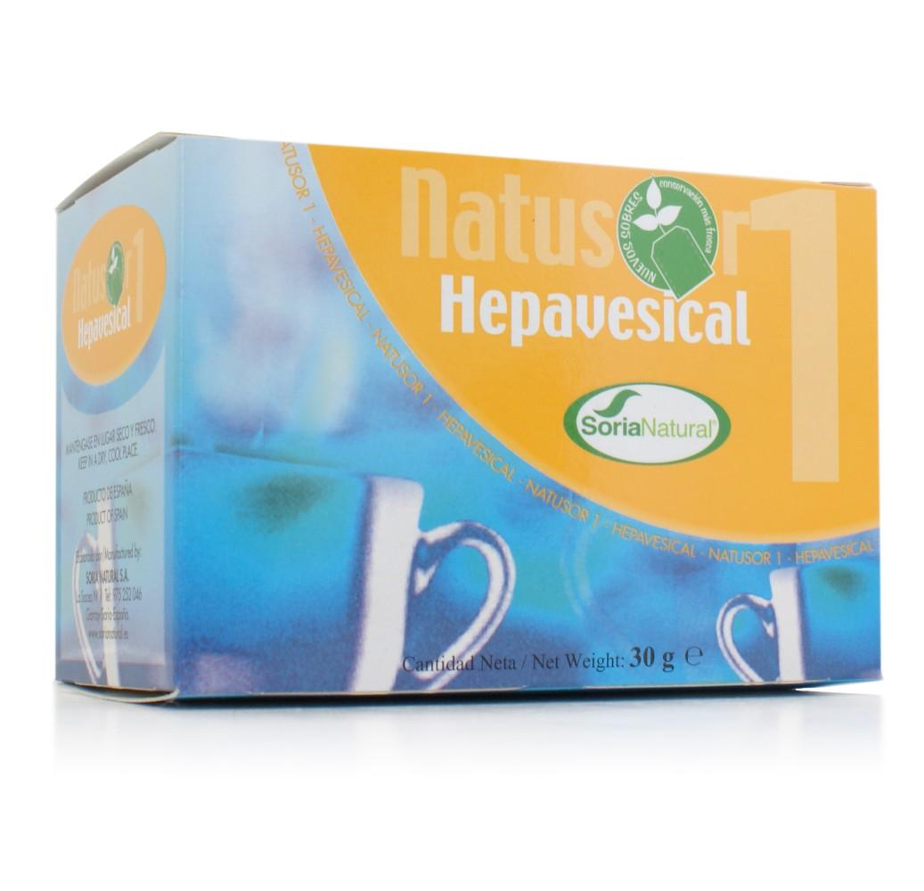 Natusor - Hepavesical - 20 bolsitas filtro