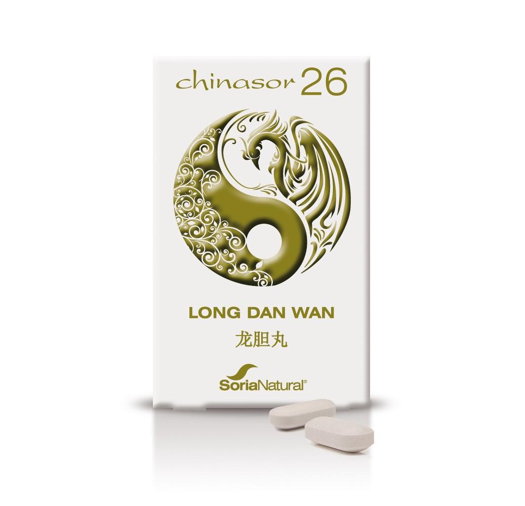 Chinasor - Long Dan Wan - 30 comp.