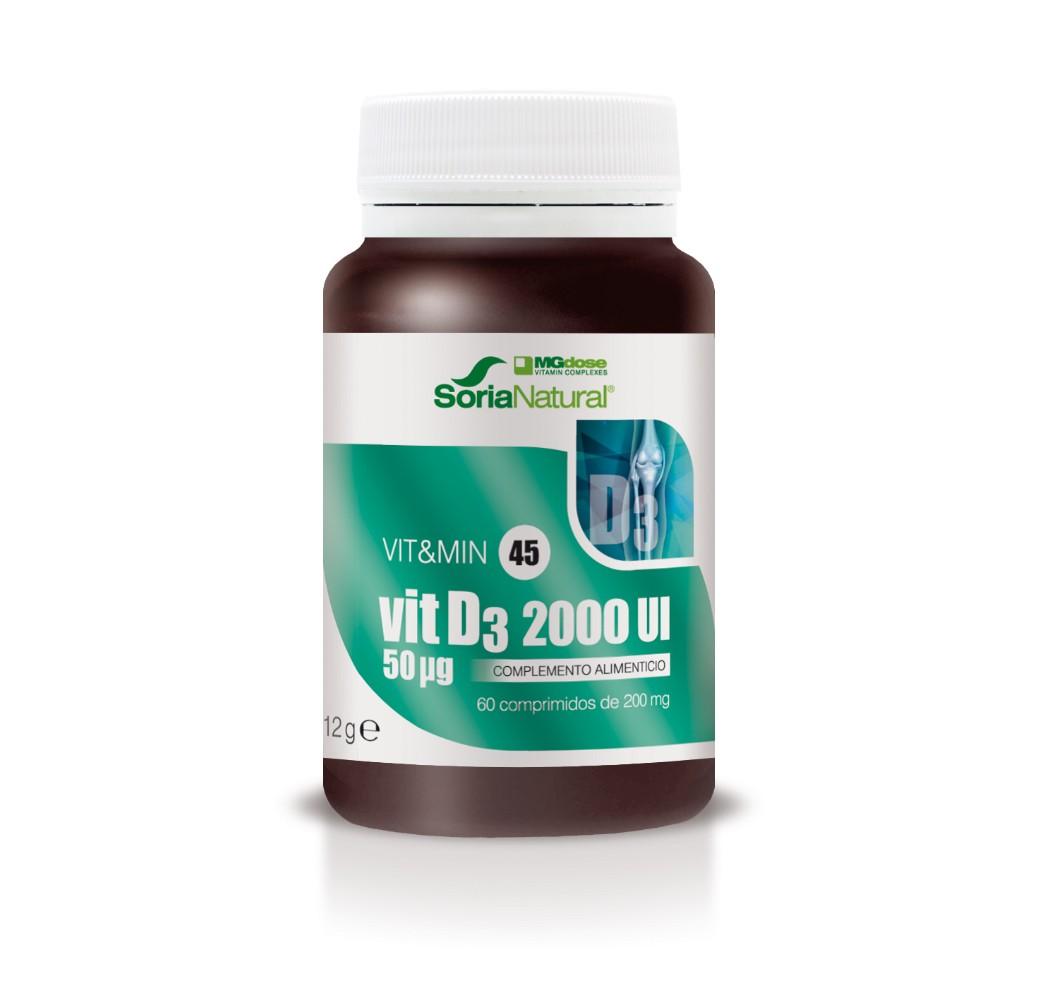 Vit&Min 45 Vit D3 2000 - 60 comp.
