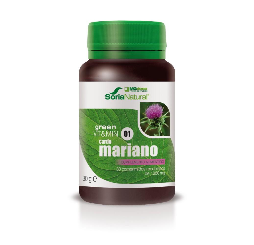 Green Vit&Min  01 Cardo Mariano - 30 comp.