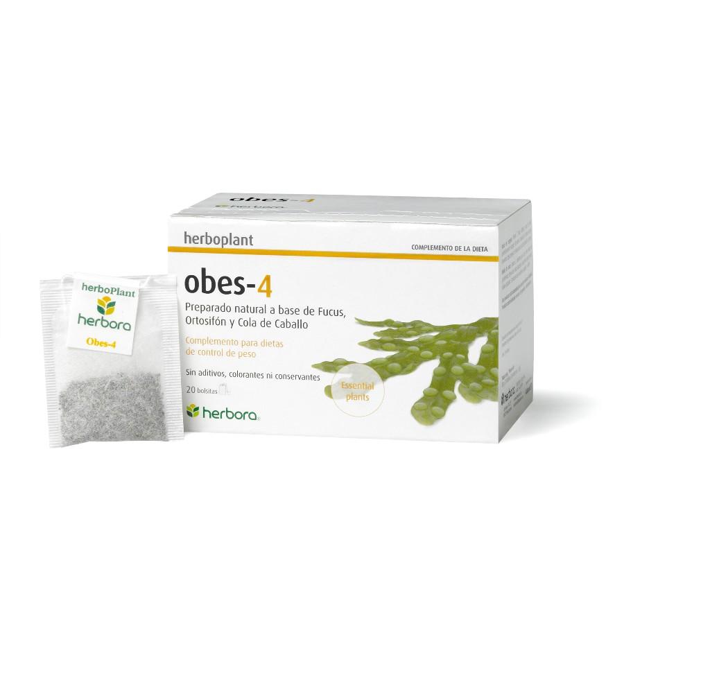 Herboplant - Obes-4 - 20 filtros de infusi