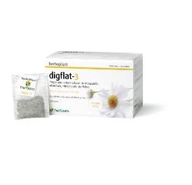 Herboplant - Digflat-3 - 20 filtros de infusi